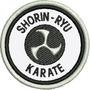 Patch Bordado Karate Shorin Ryu 6,5cm Para Kimono Esp79