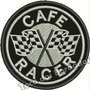 Patch Bordado Corrida De Moto Cafe Racer 8x8cm Racing Car602