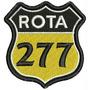 Patch Bordado Dv077 Rota 277 Paraná Motorcycles