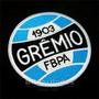 Trs038 Grêmio Antigo Escudo Símbolo Tag Patch Bordado 9,5 Cm