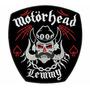 Patch Bordado Motorhead Lemmy Grande 25cmx23,4 Banda+brinde.