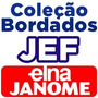 600 Mil Bordados Em Jef Pes Para Janome Elna Brother Em Dvd