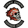 Patch Bordado Termocolante - Lost Boys Riding Club 45x35cm