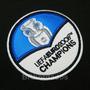 Tpc124 Espanha Uefa Euro 2008 Champions Patch Bordado 7,5 Cm