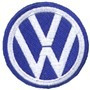 Patch Bordado Wolks Logo Tam: 6,5 X 6,5 Cm
