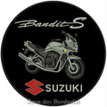 Bordado Termoc. Moto Suzuki Bandite S Patch Jaqueta Car339