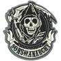Patche Bordado Sons Of Anarchy Dv004 Bolacha