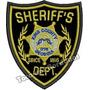 Patch Bordado Estrela Sheriff