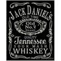 Bordado Termocolante Logo Jack Daniels Gr 25cm Patch Log34