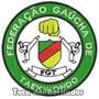 Bordado Federação Gaucha De Taekwondo Fgt Patch Esp7