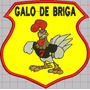 Patch Tag Bordado Galo De Briga 11,5x11,5