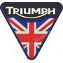 Patch Bordado Logo Moto Triumph 28cm Gr Para Jaqueta Car785