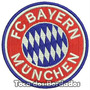 Bordado Escudo Fc Bayern Munchen 8cm Patch Futebol Tmi19