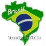 Bordado Termocolante Mapa Do Brasil Patch Copa Futebol Tma3