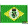 Bordado Termocolante - Bandeira Estados - Ceará 7x4,5cm