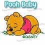 Baby Pooh - Ursinho Puff Baby - Matrizes De Bordados