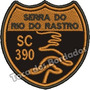 Patch Bordado Serra Do Rio Do Rastro Sc390 7x7cm Moto Car711