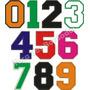 Numero De Tecido Bordado Para Camisa Futebol Tam.25cm Altura