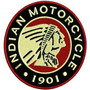 Patch Bordados Lm064 Indian Motorcycle Bolacha 1901
