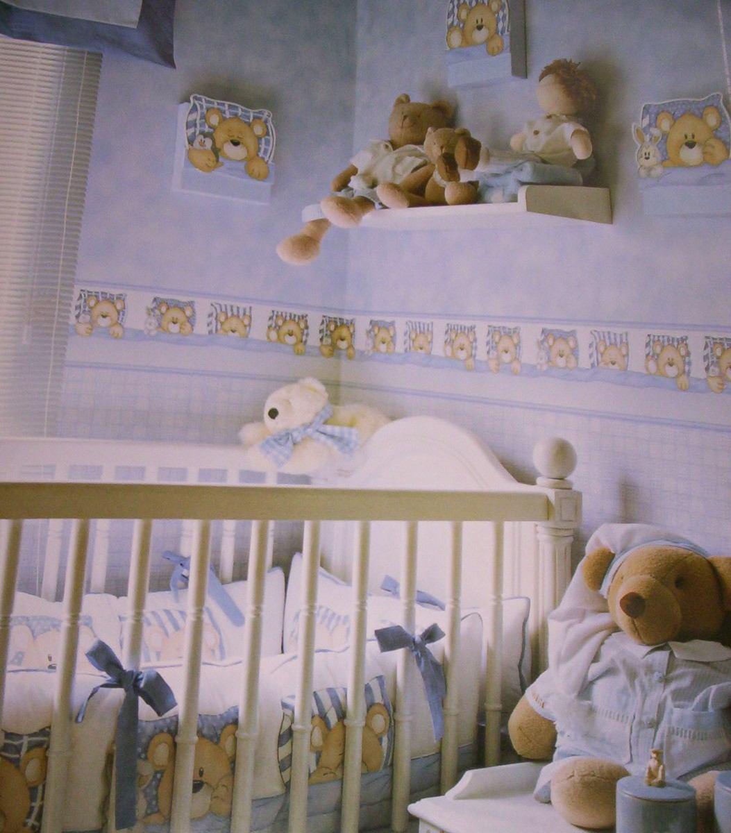 Border Faixa Papel De Parede Bobinex Infantil Decorativa  R$ 42,78 no Mercad