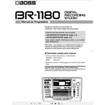 Manual Mesa Boss Br -1180 Em Português Completo Com Imagens.