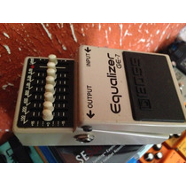 Pedal Boss Ge-7 Equalizer - Troco