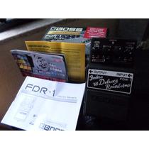 Pedal Boss Fender Fdr1 Deluxe 65 Drive, Reverb E Tremolo