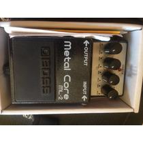 Pedal Para Guitarra Boss Ml2 Metal Core