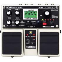 Pedal Boss Dd20 Na Cheiro De Música Loja Autorizada !!