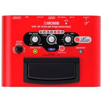 Pedal Processador De Voz Boss Ve-2 Vocal Harmonist + Estoque