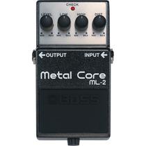 Pedal Boss Ml2 Metal Core Na Cheiro De Música Loja !!