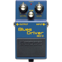 Boss Blues Driver Bd-2: Pedal De Overdrive Para Guitarra