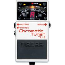 Pedal Afinador Tu-3 Chromatic Tuner - Boss Frete Grátis!!