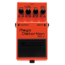 Pedal Boss Mega Distortion Md-2 Frete Gratis + B R I N D E