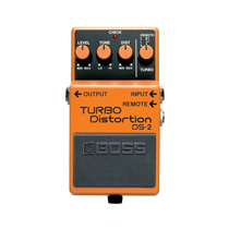 Pedal Ds-2 Boss Laranja Turbo Distorção