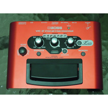 Pedal Processador Voz Boss Ve-2 Vocal Harmonist - 5 Vozes