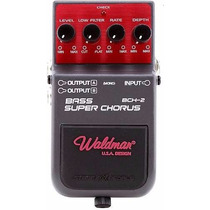 Pedal Bass Super Chorus P/ Baixo Waldman Bch2 / Boss Cbe3