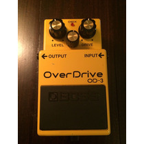 Boss Overdrive Od-3: Pedal De Overdrive P/ Guitarra