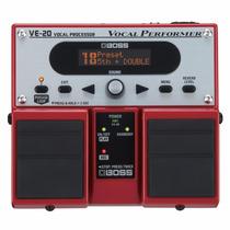 Pedaleira Boss Ve-20 Processador De Efeitos Para Voz