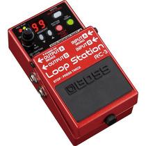 Boss Loop Station Rc-3: Pedal De Loop P/ Guitarra|violão