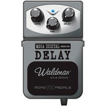 Pedal Guitarra Baixo Digital Delay Waldman Mdd-3r