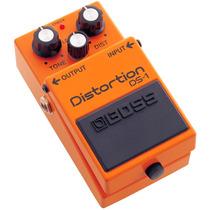 Pedal Para Guitarra Boss, Distorção Ds 1, Controle Tone
