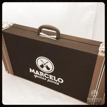 Hard Case P/ Pedais Pedaleiras Vintage Brown 60x30x10!