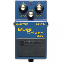 Pedal Boss Guitarra Bd2 Blues Drive, 10133