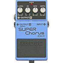 Pedal Boss Super Chorus Ch-1 (novo)(original)(garantia)