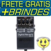 Pedal Boss Roland Rv5 Digital Reverb 6 Modos P R O M O Ç Ã O