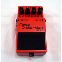 Pedal Boss Md-2 Mega Distortion Showroom Akustica Musical