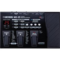 Pedaleira Boss Me25 Processador De Efeitos P/ Guitarra