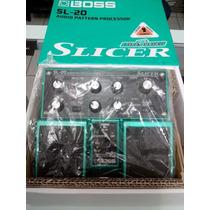 Pedal De Efeitos Boss Sl-20 Slicer Na Caixa!!