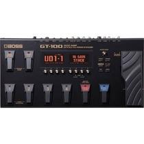 Pedaleira Boss Gt-100 Para Guitarra Multi-efeitos